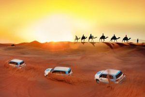 From Cairo: 4x4 Desert Safari with Snowboard & Camel Ride