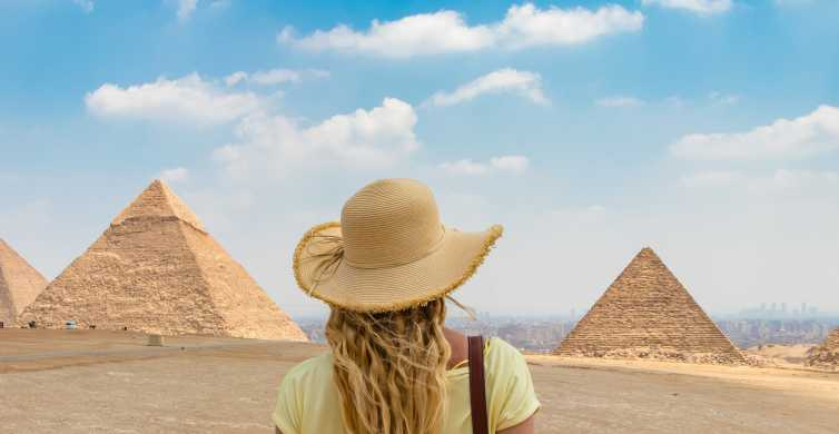 From Cairo: Giza Pyramids and Sphinx Half-Day Tour
